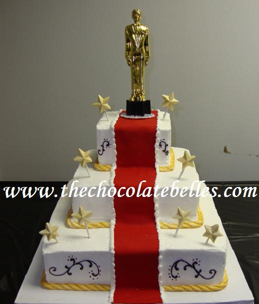 Star Of The Party Sweet 16 Tier Birthday Cake