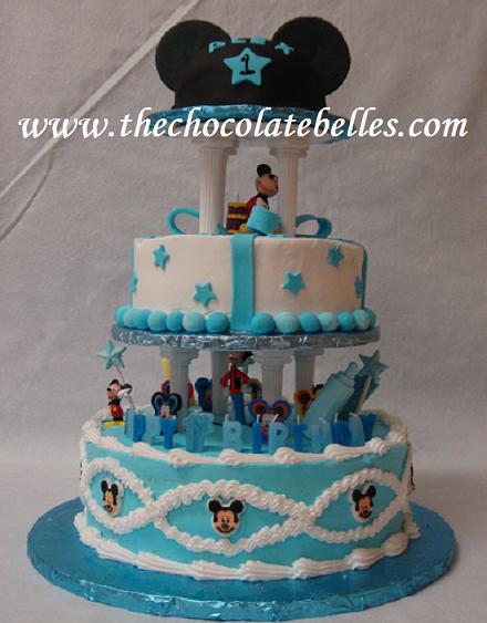 Super Mickey Mouse 1St Birthday Cake Funny Birthday Cards Online Necthendildamsfinfo