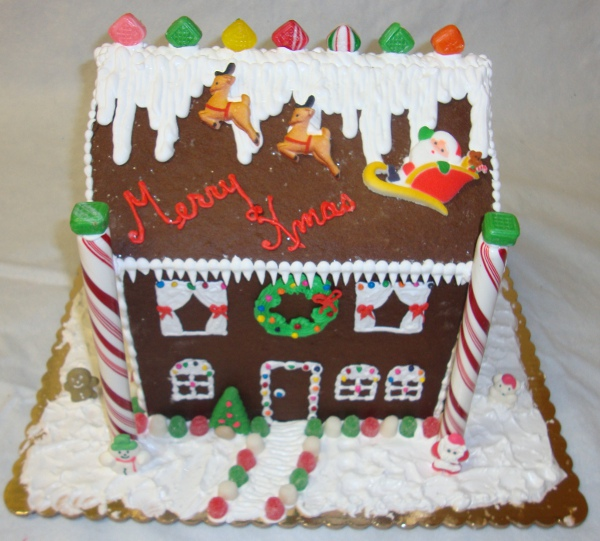 Ann S Gingerbread House Construction Recipe