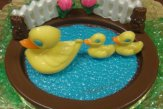 How To Make Chocolate Duck Pond (Video)