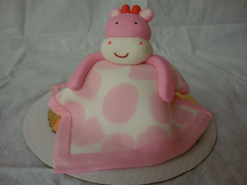 Personal Size Baby's 1st Birthday Cake