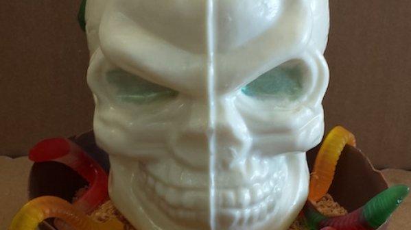 Product Spotlight: 3-D Halloween Skull Chocolate Mold
